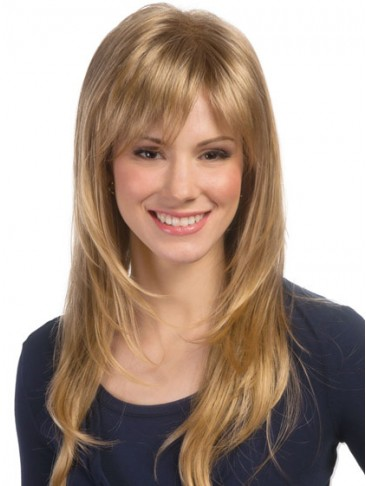 Extra Long Face Framing Feathered Layered Cut Wig