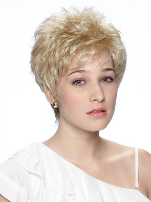 Retro Hairstyle Short Synthetic Wig Synthetic Wigs Online Uk D4
