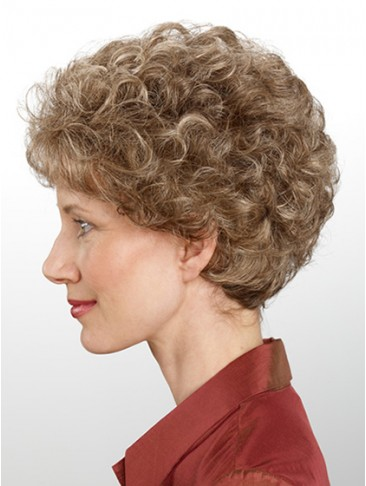 New Style Synthetic Hair Capless Wig