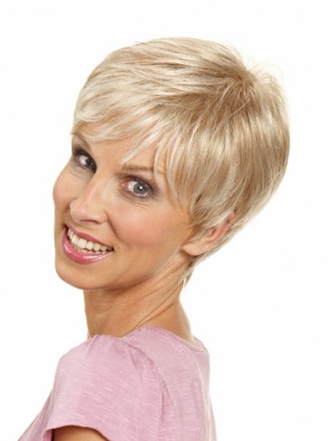 Straight Short Capless Synthetic Hair Wig