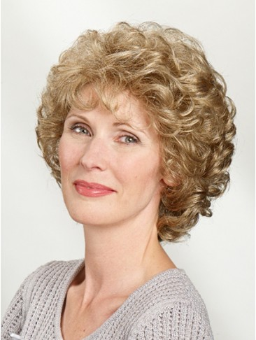 Capless Synthetic Short Wavy Wig