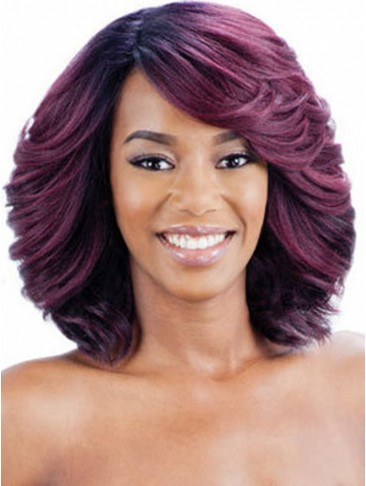 Capless Shoulder-length Hair Wig