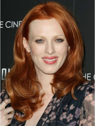 Fashion Wavy Synthetic Capless Wig