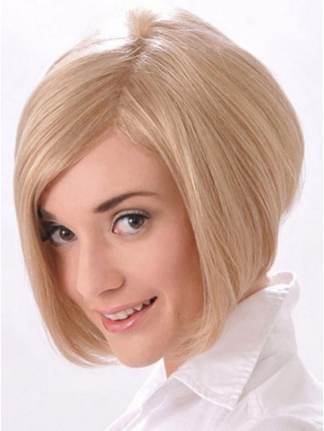 Short Asymmetrical Cut Bob With Razor Edges Synthetic Wig