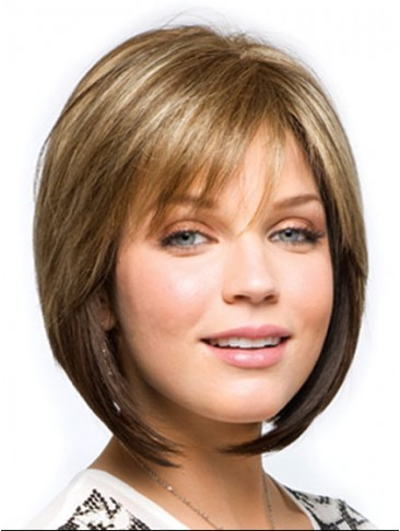 Multi-dimensional Highlighted Capless Wig