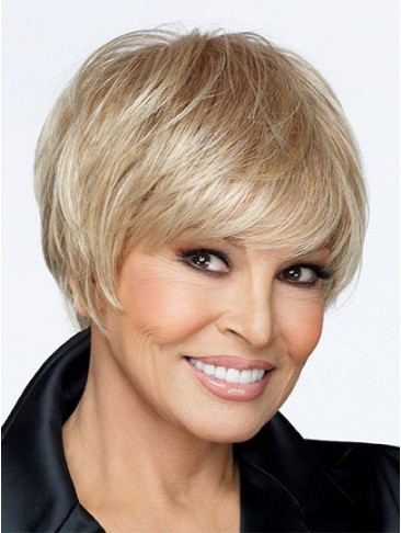 Synthetic Monofilament Top Short Wig