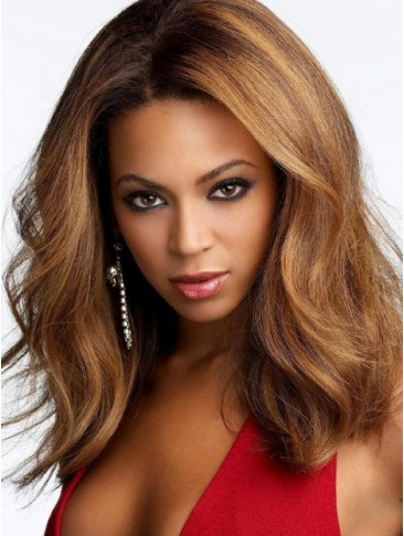 Natural Loose Wavy Human Hair Lace Front Wig
