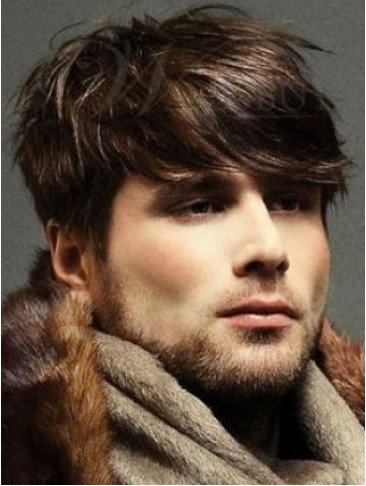 New Style Short Full Lace Mens Wig