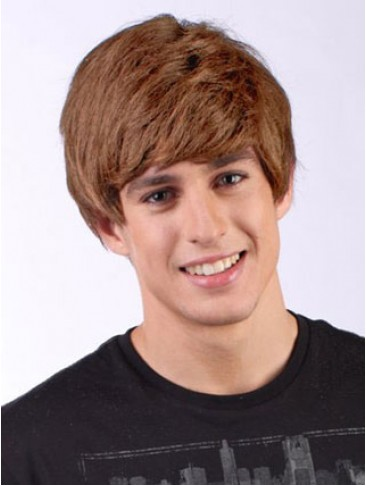 Short Capless Justin Bieber Costume Synthetic Wig