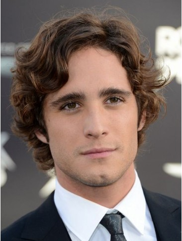 Hot Sell Short Capless Curly Synthetic Wig For Men
