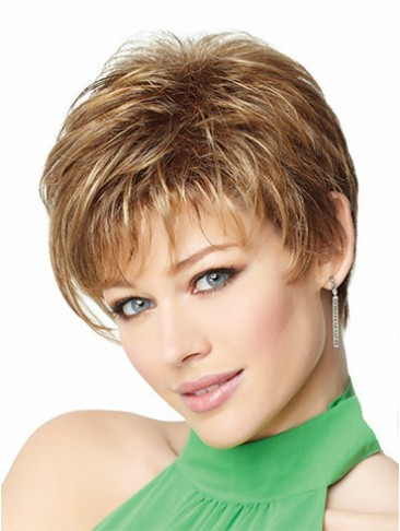 Short Asymmetrical Cut Lace Front Wig