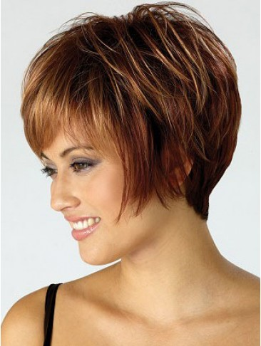 Synthetic Pixie Short Cut Wig