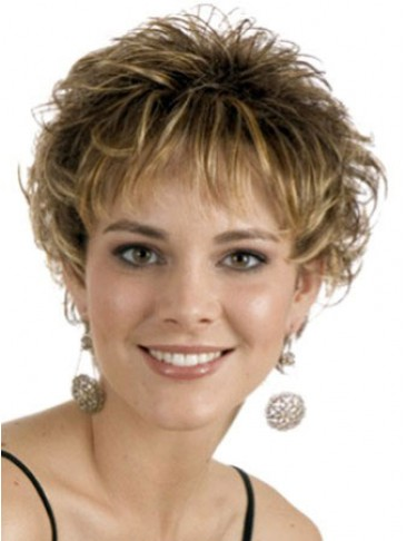 Ultra-lightweight Synthetic Short Wig