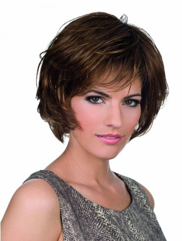 Short Lace Front Wig with Full Layers