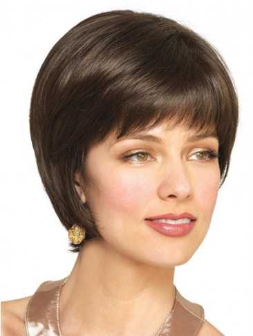 Remy Human Hair Pretty Tapered Bob Wig