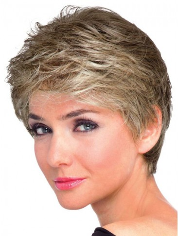Classic Soft Waves Style Short Wig
