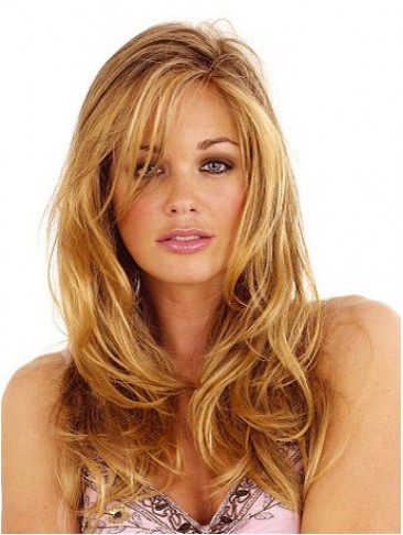 Long Luxuriously Synthetic Lace Wig