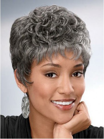 Stylish Sophisticated Grey Wig