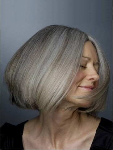 Medium Straight Synthetic Wig With Bob Style
